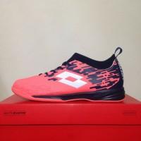 New Sepatu Futsal Lotto Veloce IN Bright Peach L01040002 Original BNIB