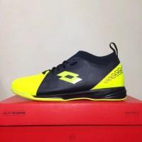 New Sepatu Futsal Lotto Energia IN Safety Yellow L01040008 Original