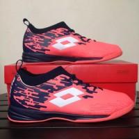 Baru Sepatu Futsal Lotto Veloce IN Bright Peach L01040002 Original