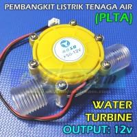 PLTA 12v Pembangkit Listrik Tenaga Air Generator Hydroelectric Turbin