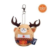 Ready! Keychain Egg Doll ATUNG Asian Games Official Product