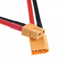Connector XT60 male & female with cable10cm 14 AWG silicon