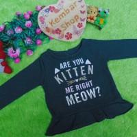 carter's kitten blink jaket baju hangat sweater bayi newborn perempuan