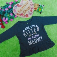 kitten blink jaket baju hangat sweater bayi newborn perempuan baby gir