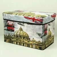 Storage Box Jumbo Kotak Simpan Serbaguna Bisa Untuk Kursi Bangku