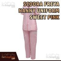 Scoora Freya Nanny Uniform Sweet Pink Baju Seragam Suster Perawat Pink