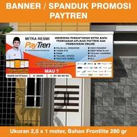 Banner / Spanduk Agen Paytren Ukuran 2,5 x 1 meter