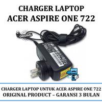 Charger Adaptor Original Laptop Acer Aspire One 722