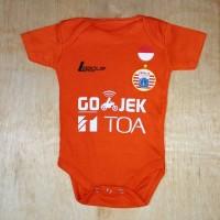 Baju Bola Bayi/Baby Romper/Baby Jumper Persija 3rd LIGA1 2017