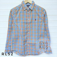 RALPH LAUREN Kemeja Cowok Original Baju Anak Laki-laki Branded 52