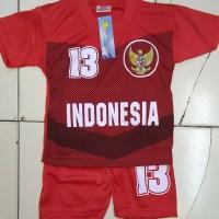 Baju bola Timnas anak umur 1 - 2 tahun