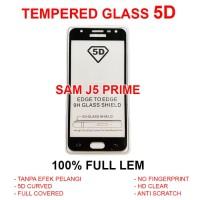 TEMPERED GLASS 5D Samsung J5 Prime anti gores screen guard full 3D 4D