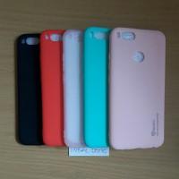 Softcase Xiaomi Mi 5X/A1 Ultrathin Case Slim Mate Warna Silikon