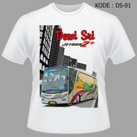 Kaos Bis Dewi Sri, Baju Bus, Jetbus Hd, Shd, Bmc, Tshir Diskon