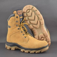 Sepatu Azcost Delta Zipper Safety Boots Size Besar 45 46 47 48