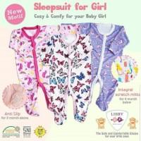 libby sleep suitbaby baju tidur jumper bayi perempuan girls