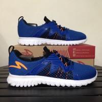 Sepatu Running Lari Specs Original Prelude Navy Putih