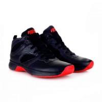 Sepatu Basket Piero Original Commander Hitam Merah