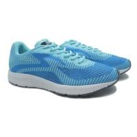 Sepatu Running Lari Specs Original Overdrive Biru Tulip Putih Gelap