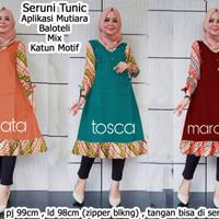 baju tunik murah/baju batik muslim/baju hijab/seruni tunic/gl70125