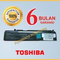 Original Baterai Toshiba Satelite A50 A55 U200 U205 S300 S300M PA3356U