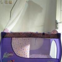 Box bayi baby preloved second/tempat tidur bayi bekas/ayunan