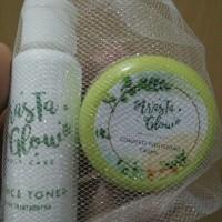 TERMURAH!!! Kemasan Baru ArasTa Glow Cream Plus Toner