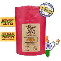 Kopi Arabika Mysore India 500 Gr - Bean/Biji & Ground/Bubuk - Bean - Biji