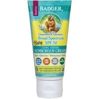 Badger Baby Sunscreen Cream Broad Spectrum SPF 30/ Sunblock/ Sun Block