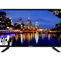 TV LED POLYTRON 32 INCH PLD32D7511 USB HDMI GOJEK GOSEND