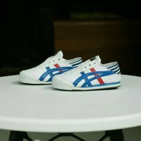 Sepatu Asics Onitsuka Slip On For Anak/Kids Import Premium Murah