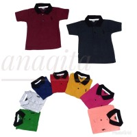 Kaos Anak Laki- Laki Berkerah - Kaos Polo Shirt Anak