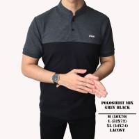 Kaos Polo Shirt Pria | Baju Cowok Polo Kerah Mix
