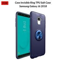Case Autofocus Invisible Iring Samsung J6 J6 2018 Soft Case