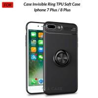 Case Autofocus Invisible Iring Iphone 7 Plus / 8 Plus Soft Case