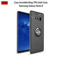 Case Autofocus Invisible Iring Samsung Galaxy Note 8 Soft Case