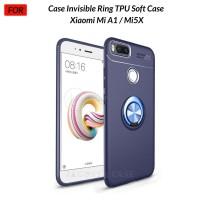 Case Autofocus Invisible Iring Xiaomi Mi A1 / Mi 5X Soft Case