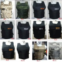 Rompi Vest Tactical Army