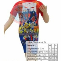 Baju Renang Diving Anak TK Transformer