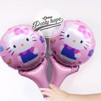 balon pentung helo kity / balon stick foil helo kity / balon souvenir
