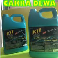 KIT Wash and Glow car shampoo sampo mobil dengan busa pembersih 4 LTR