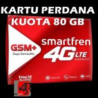 kartu perdana internet Smartfren 80gb kuota data 13gb 19gb 3 65 gb