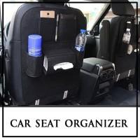 Car Seat Organizer Bag Multifungsi Rak Mobil Elegant (BL11)