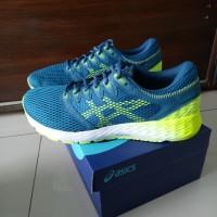Asics gel roadhawk ff sepatu olaraga running gym original