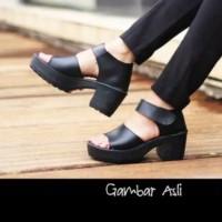 MORYMONY - sepatu sandal heel boot docmart platform simple casual
