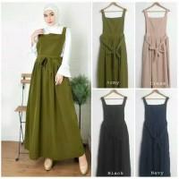 Overal simple outer / gamis wanita / baju wanita