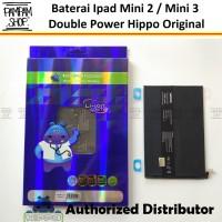 Baterai Hippo Double Power Original Apple Ipad Mini 2 3 Batre Batrai