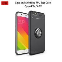 Case Autofocus Invisible Iring Oppo F1s / A59 Soft Case