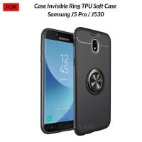 Case Autofocus Invisible Iring Samsung J5 Pro / J530 TPU Soft Case - Hitam