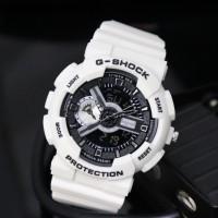 jam tangan casio gshock ga110 g-shock ga-110 putih hitam